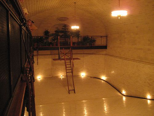 Biltmore house basement indoor swimming pool biltmore estate basements pinterest the o for Biltmore estate indoor swimming pool