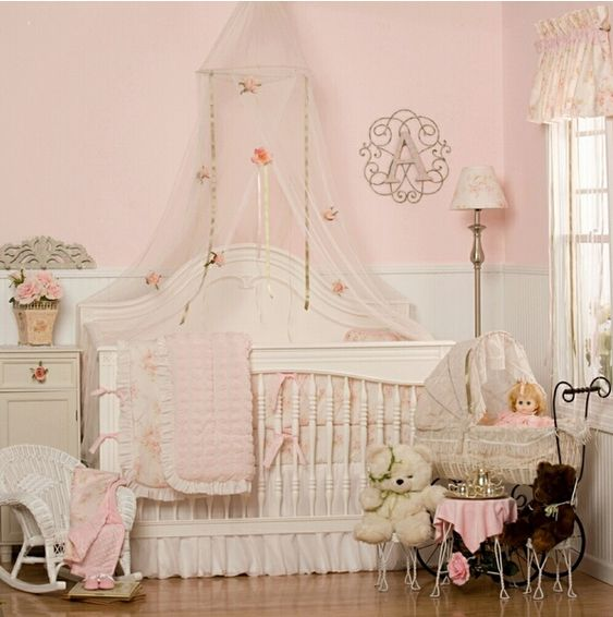 shabby chic baby roomDecor ideasPinterestBaby girls