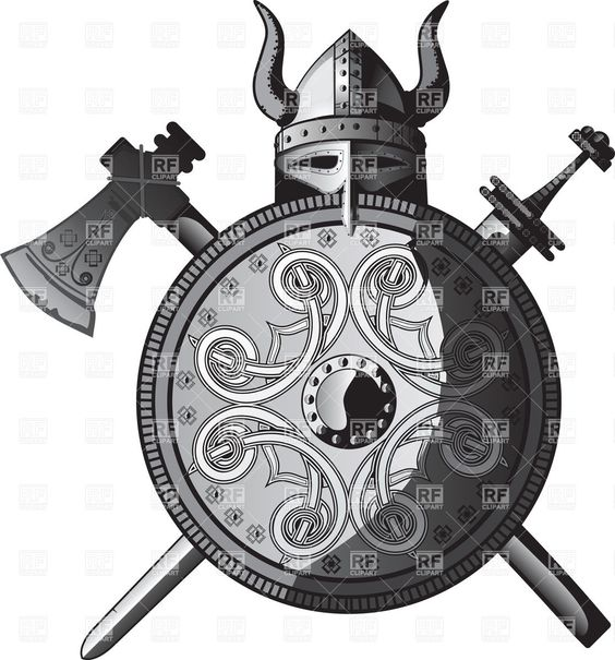 excalibur ax | Viking helmet, sword, axe and shield, 25250, Objects, download Royalty ...