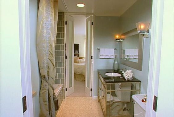 Mini French Doors Me likey for ensuite