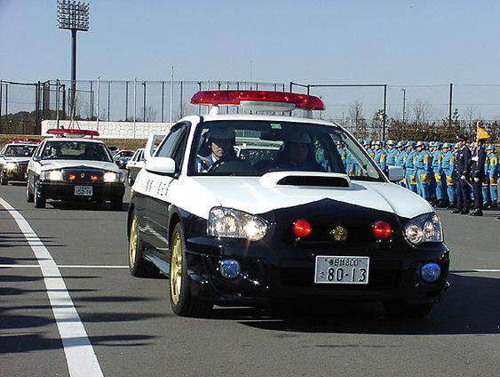 日本のパトカー