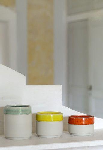 boites cerise - Collection Jars Céramistes