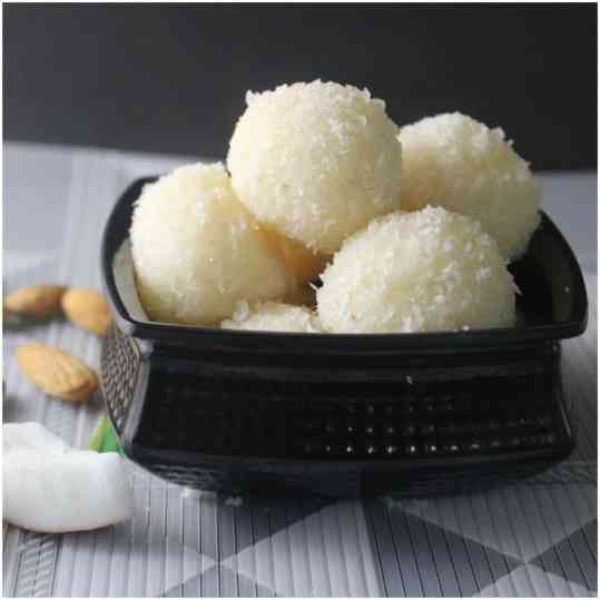 Homemade Raffaello Coconut Balls Recipe Using Condensed Milk Recipes Using Condensed Milk Balls Recipe Recipes