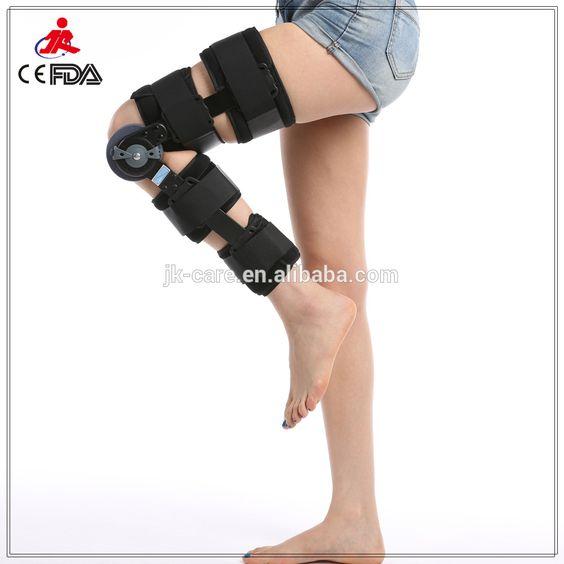 metalen hoek verstelbare knie been brace medische hoek verstelbare kniebrace orthopedische rom scharnierende knie brace met ce fda-afbeelding-elleboog en knie pads-product-ID:60360560684-dutch.alibaba.com