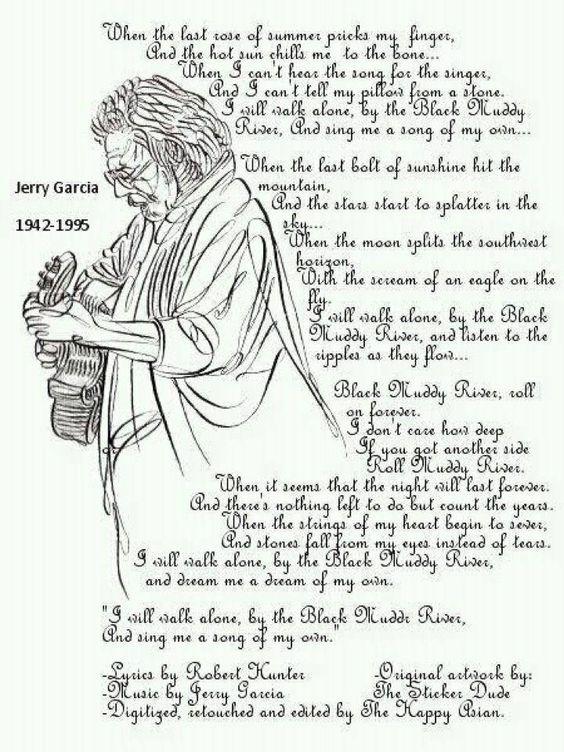 Grateful Dead - Black Muddy River Lyrics | MetroLyrics
