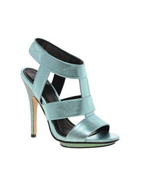 ASOS HALLEY Metallic High Heel Sandals... Sto impazzendo!!