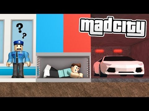 All Secret Escapes In Mad City Roblox Youtube Roblox Secret Escapes How To Play Minecraft