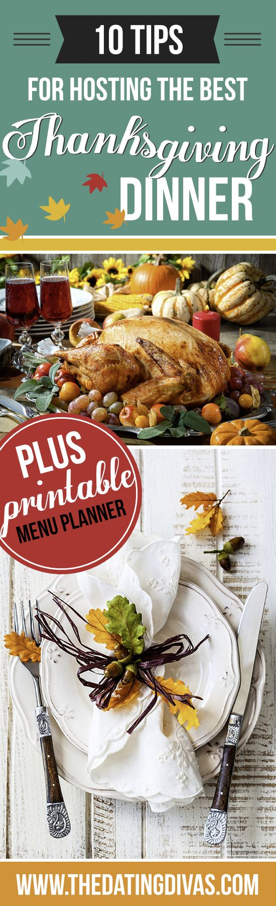 You'll wow all your guests and stay organized with our Thanksgiving meal planner! Get ready for the BEST Thanksgiving dinner EVER!
