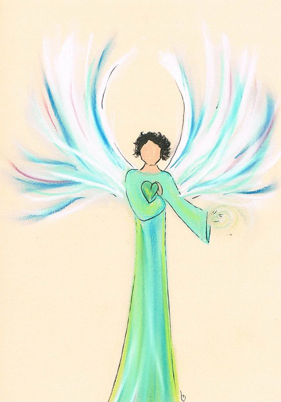 Alfons Bringing healing energy! Want your own angel drawn? www.angelsco.nl