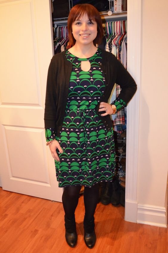 NYC Recessionista: What NYC Recessionista Wears: Megan Draper dress