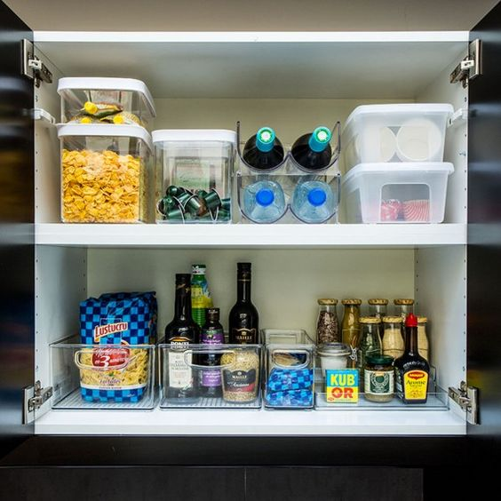 Pinterest le catalogue d 39 id es - Organiser ses placards de cuisine ...