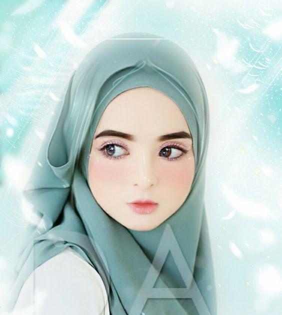 Hijab Gambar Kartun Muslimah Cantik Terbaru 2019 Ideku Unik