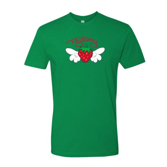 FlyBerry™ Script Fitted Men's T-Shirt