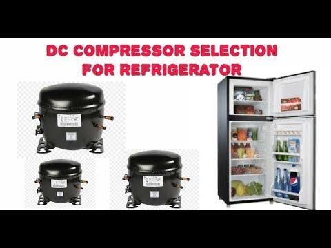 Dc Compressor Selection For Refrigerator Compressor Selection For Refr In 2020 Refrigerator Compressor Compressor Science And Technology