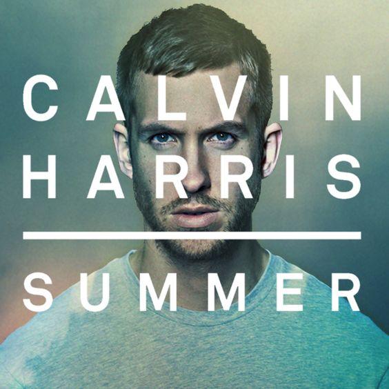 Calvin Harris – Summer (single cover art)