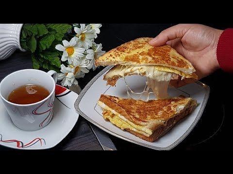 أسرع و أشهى فطور صباحي في دقيقتين و لااااا أروع Youtube In 2020 Food Sandwiches Beignets