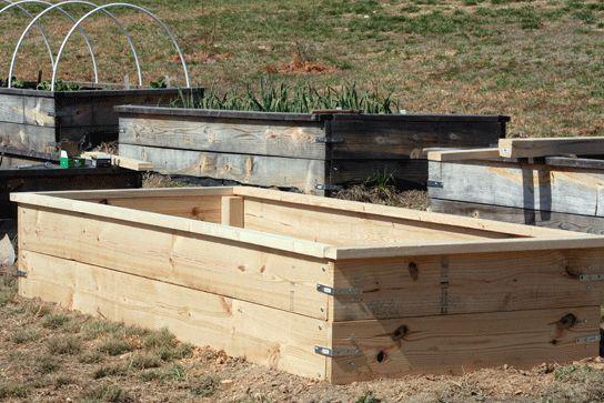 Cheap: DIY raised bed garden box