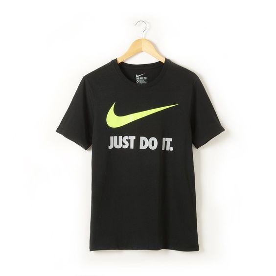 "T-shirt para homem, ""JUST DO IT"" Nike | La Redoute"