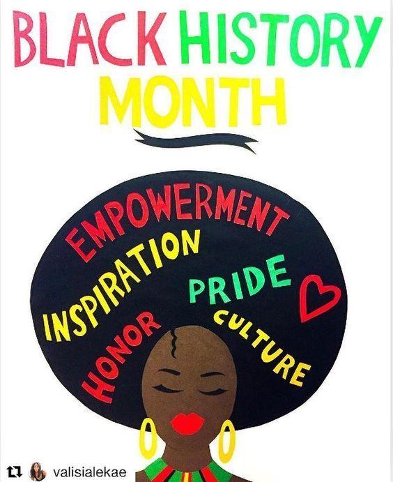 Pinterest Black History Month Art Black History Month Crafts Black History Month Activities