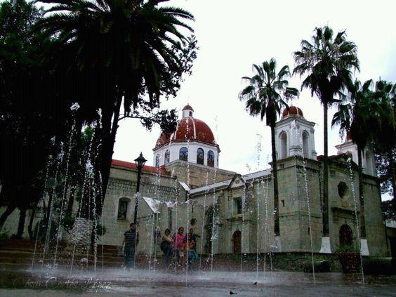 Iglesias de oaxaca mexico