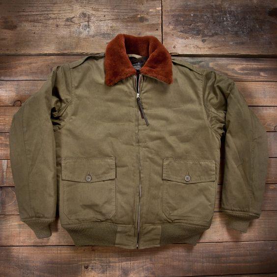 pike-brothers-usaaf-b10-flight-jacket-olive-01 | Fashion