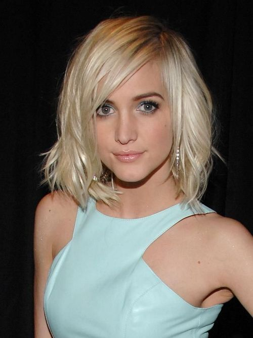 short medium hairstyles for oval faces 2014 women