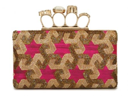 Hot Pink Ring Frame Clutch #Ekatrra #Handbag #Clutch #Purse #Embroidered #Partywear #Collection #Womenwear #Fancy #Fashion #Follow #Gift #Love #Indaindesigner #Traditional #Stepintostyle #Stepintoawesome Shop Now: http://bit.ly/1mktasN