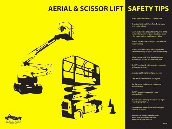 Equipment Operator Certification Card Template Beautiful 9 Best Maintenance Platforms Images On Pin Occupational Health And Safety Safety Training Scissor Lift