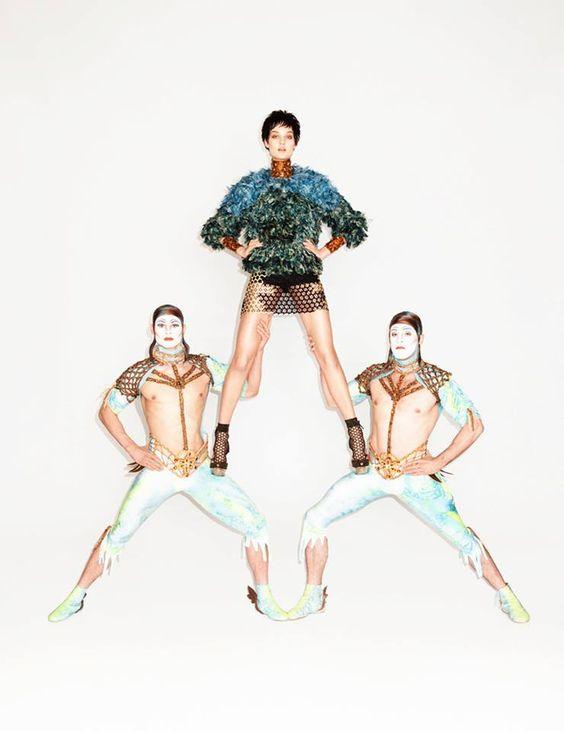 Kirsi Pyrhonen for Vogue Ukraine June 2013 by Jegor Zaika