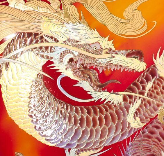 龍の頭部の壁紙