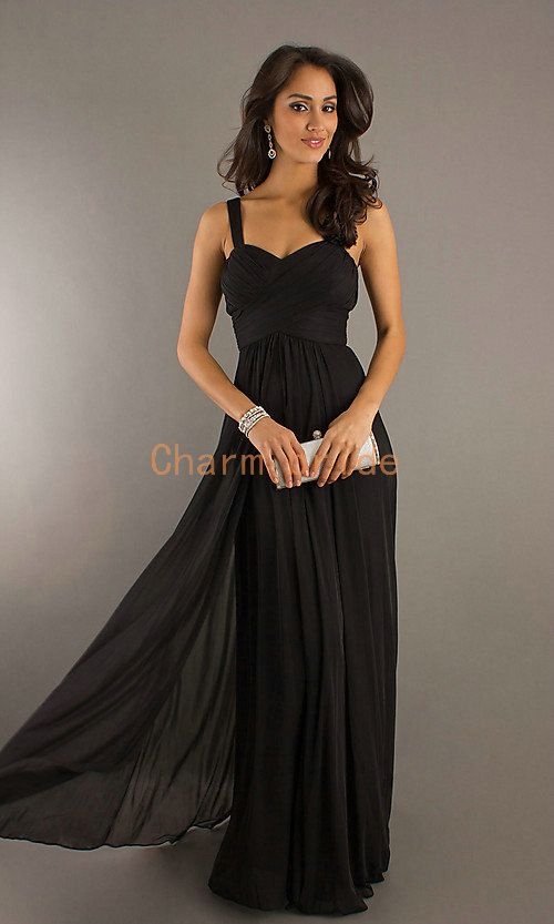 black long ball gown prom dresses discount sexy sweetheart evening ...