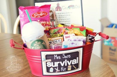 teacher survival bucket