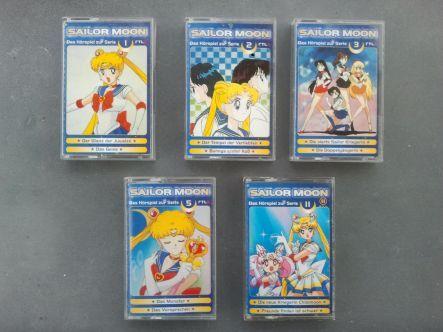 Sailor Moon Hörspiel Kassetten