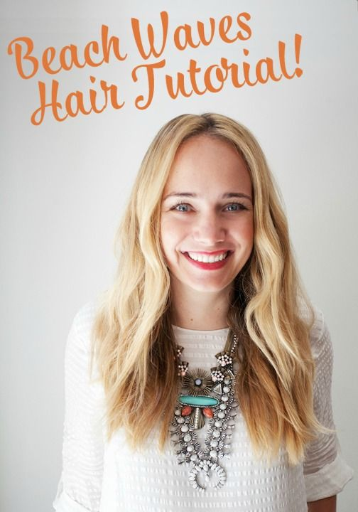 Beach waves are our favorite kind of wave! It seems as though this hairstyle may never go out of style, and we're okay with that. Click to use this beautiful tutorial to help you style this look.