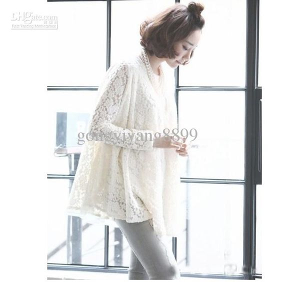 New outfit 2013 pregnant women chiffon wide lace dress long render lace blouse lace skirt