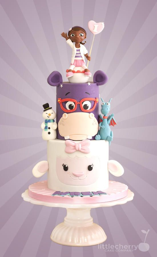 Doc McStuffins Cake by Little Cherry