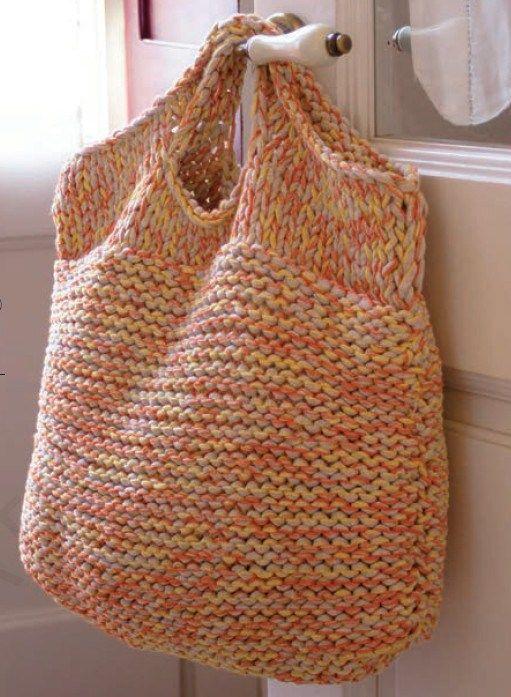 Knitting Bag Project Bag Knitting Sack Crochet Bag Sock Knitting Bag Shawl Knitting Bag