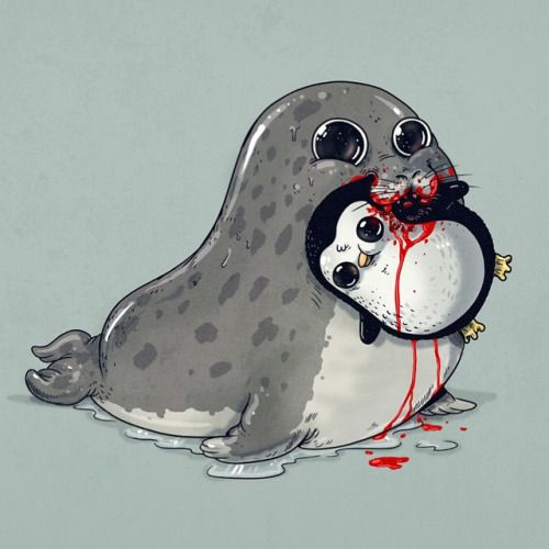 how to draw a leopard seal