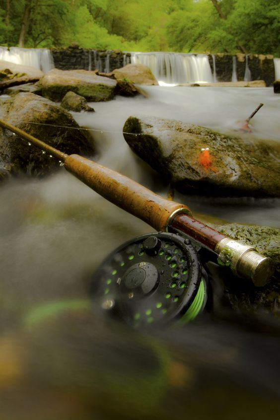 Follow me fly fishing tackle and i love on pinterest for Cool fishing poles