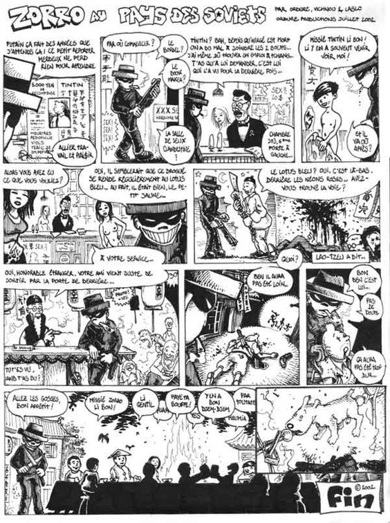 Zorro au pays des soviets