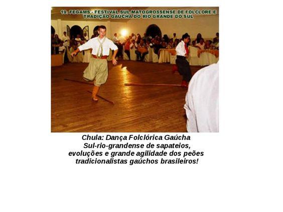 Arquivo DANÇAS DO SUL.pptx enviado por maria. Sobre: danças da região sul