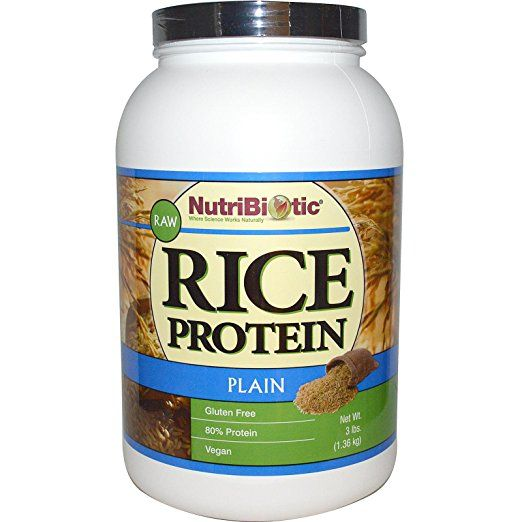 The Best Protein Powder I Ve Found No Dairy No Soy No Pea Protein Gluten Free It I Vegetarian Protein Recipes Rice Protein High Protein Vegetarian Recipes