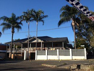 Rebels Bikie clubhouse at Albion after shooting