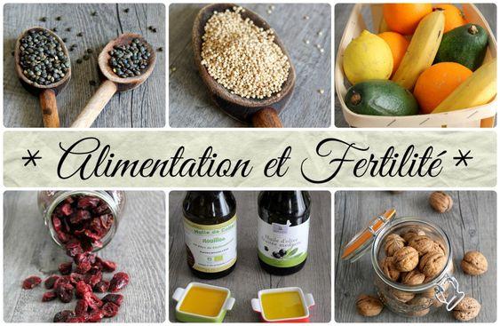 Quand les aliments peuvent booster notre fertilité