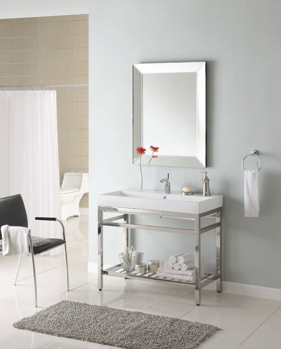 Empire industries south beach 31 console sb31 m31w1 Empire bathrooms