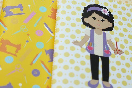 Presentes e Mimos - Craft Nega - www.tuty.com.br #tuty #presentes #mimos #geek #gift #presente #botton #chaveiro #caderno #moleskine #draw #illustration
