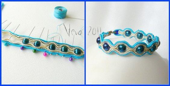 DIY TUTORIAL: soutache bracelet:
