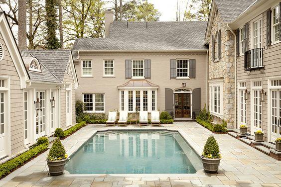 pool inside courtyard
