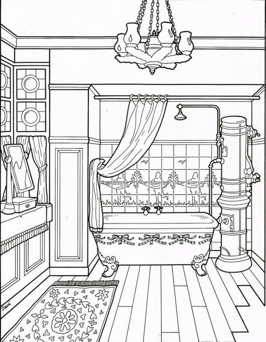 Clean Bathroom Coloring Sheet House Colouring Pages Coloring Pages Coloring Sheets