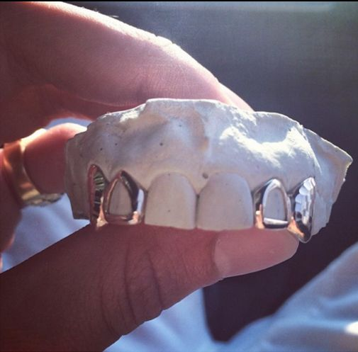 Gold teeth, Teeth and Products on Pinterest